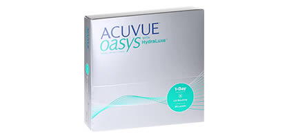 Acuvue Oasys 1 Day with HydraLuxe - Pack de 90